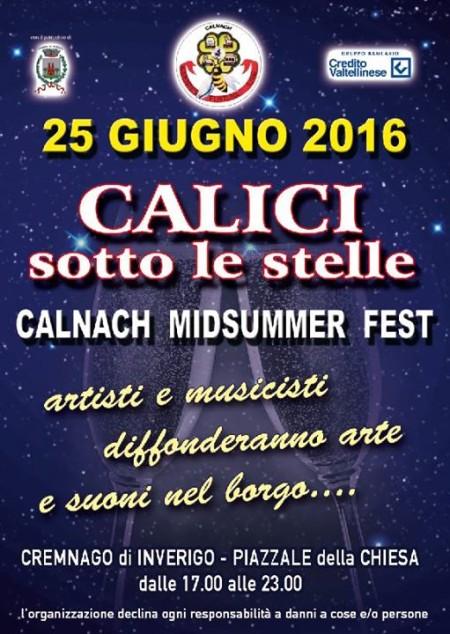 CALICI SOTTO LE STELLE 2016 | Cremnago 25.06.2016