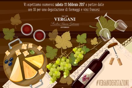 DEGUSTAZIONE DI FORMAGGI E VINI FRANCESI 11.02.2017