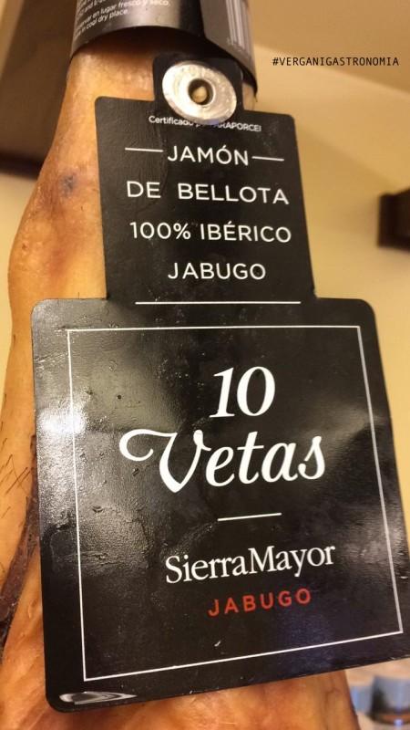 El jamon Iberico de Bellota 27 MAGGIO 2017