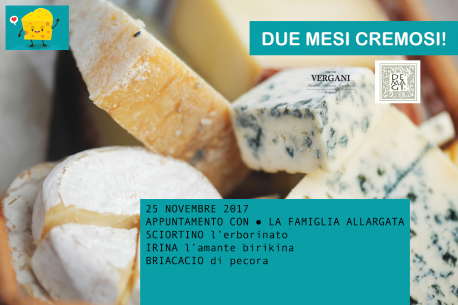 APPUNTAMENTI CREMOSI – 4 Degustazioni formaggi De Magi