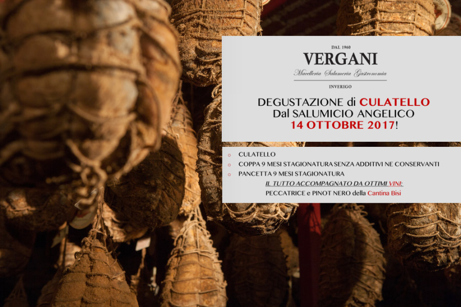 DEGUSTAZIONE SALUMI ANGELICO & VINI BISI | 14.10.17