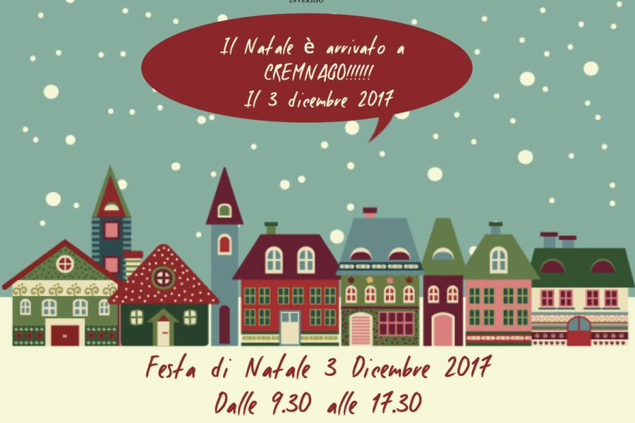 FESTA DI NATALE | CREMNAGO 03.12.17